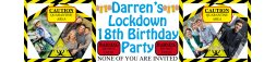 Quarantine Lockdown Birthday Party