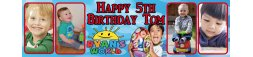 Ryan's World Birthday Banner